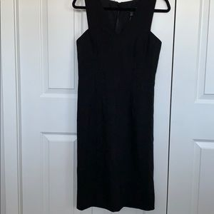 Banana Republic black sheath dress NWT